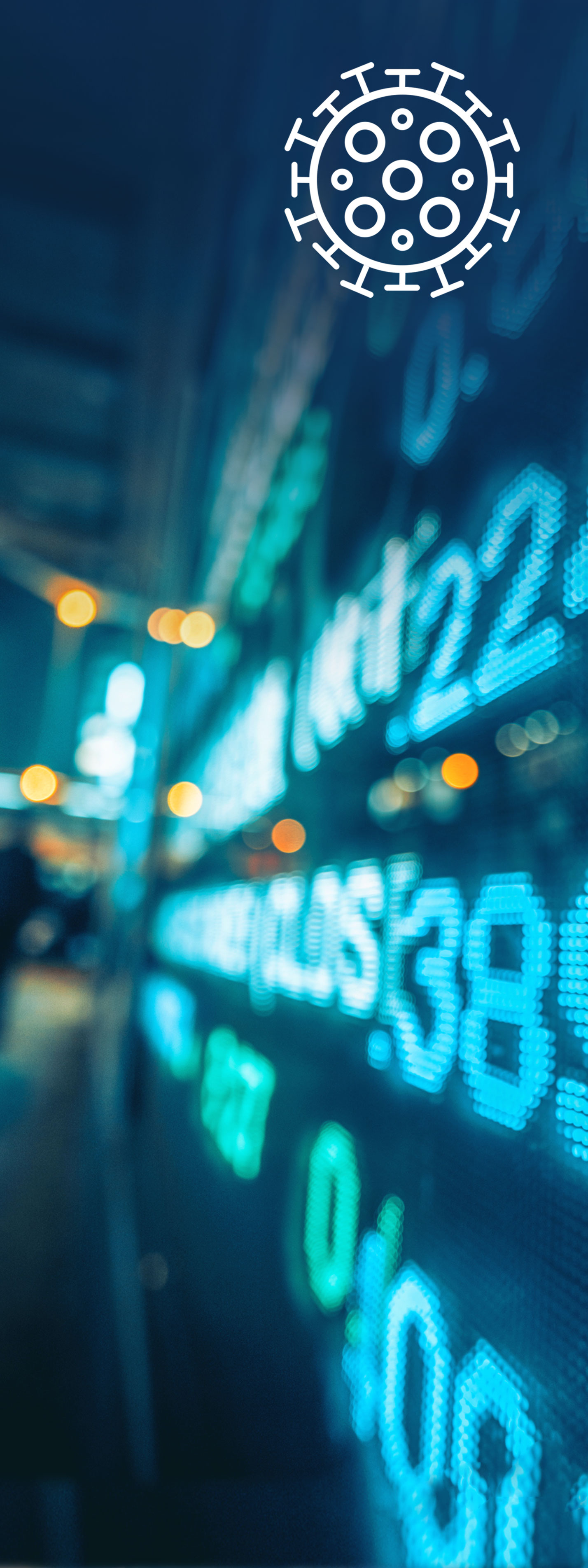 Coronavirus and financial markets