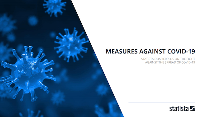 cover page of dossier on measures against covid-19
