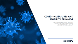 cover page of dossier on covid19 measures and mobility behaviour